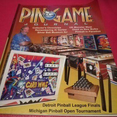 Pinball Magazines