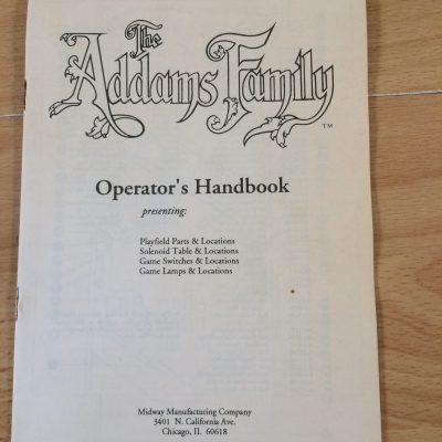 Operators Handbooks